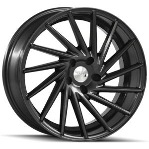 1AV ZX1 Grey multi spoke alloy wheel