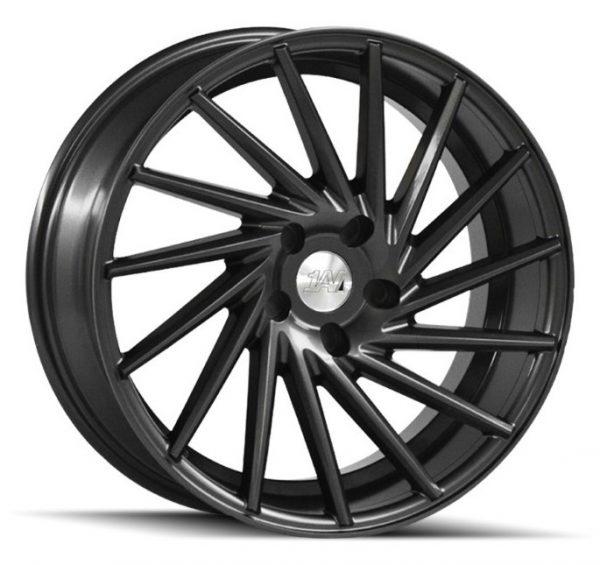 1AV ZX1 Grey multi spoke alloy wheel
