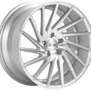 1AV ZX1 Silver Polished Face alloy wheel