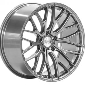 1AV ZX2 Grey multi spoke alloy wheel