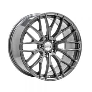 1AV ZX2 Grey angle 1000 alloy wheel
