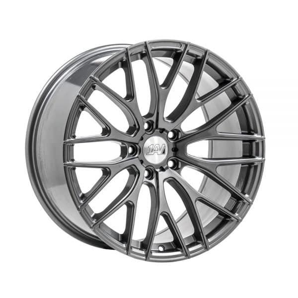 1AV ZX2 Grey angle 1000 alloy wheel