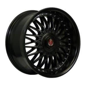 Axe EX10 Matt Black 900 alloy wheel