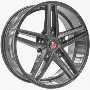 Axe EX14 Transit Gloss Grey 5 spoke alloy wheel
