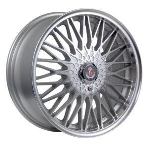 Axe EX3 Silver Polished Face Wheel