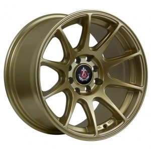 Axe EX8 Gold 10 spoke alloy wheel