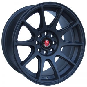 Axe EX8 Matt Black 10 spoke alloy wheel