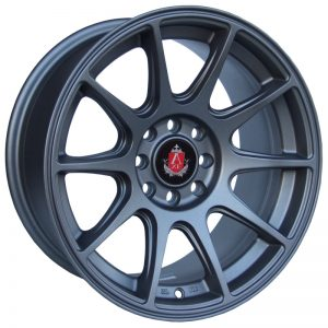 Axe EX8 Matt Grey 10 spoke alloy wheel