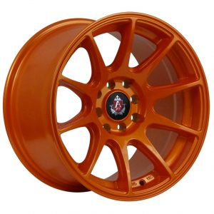 Axe EX8 Orange 10 spoke alloy wheel