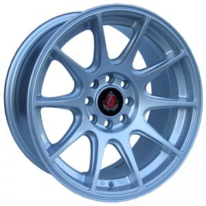 Axe EX8 Silver 10 spoke alloy wheel
