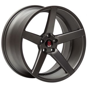 Axe Ex18 Satin Grey 5 spoke alloy wheel