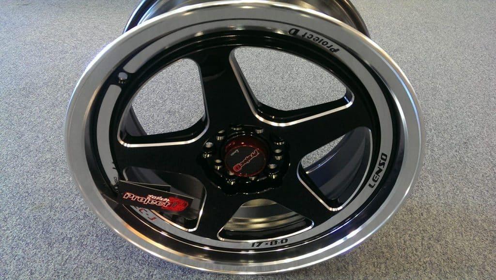 Lenso Spec J 17 inch Alloy Wheels Grey Background
