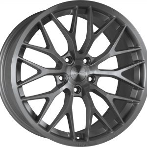 1Form Edition 1 Brushed Graphite Edition.1 EDT.1 split y spoke alloy wheel