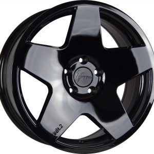1Form Edition 2 Liquid Black Edition.2 EDT.2 5 spoke alloy wheel