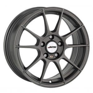 Autec Wizard Gunmetal Grey Type W 10 spoke alloy wheel