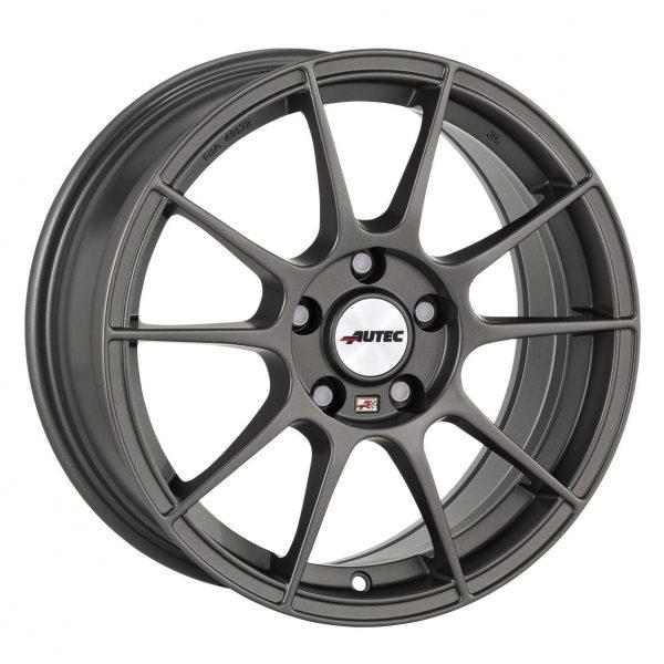 Autec Wizard Gunmetal Grey Type W 10 spoke alloy wheel