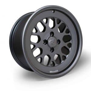 Fifteen52 Formula TR Carbon Grey angle 1680 flat faced alloy wheel