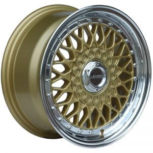 Lenso BSX Gold classic mesh alloy wheel