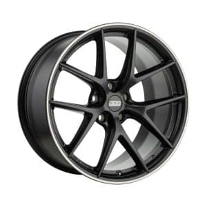 BBS CI-R Satin Black Y spoke alloy wheel