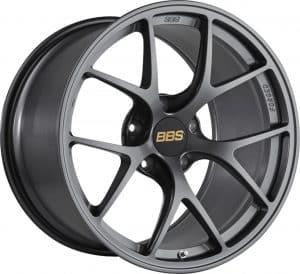 BBS FI Forged Individual Satin Anthracite Y spoke alloy wheel
