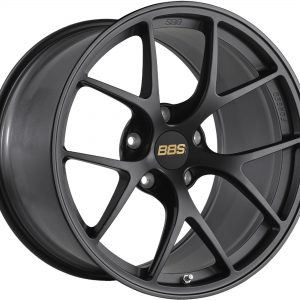 BBS FI Forged Individual Satin Black Y spoke alloy wheel