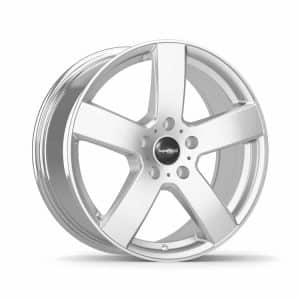 Supermetal Bolt Silver 5 spoke alloy wheel 1