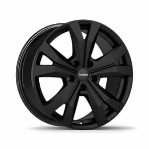 Supermetal Bullet Matt Black Y spoke 5 spoke alloy wheel 1