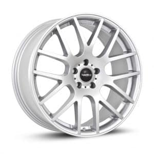 Supermetal Trident Silver 1 alloy wheel
