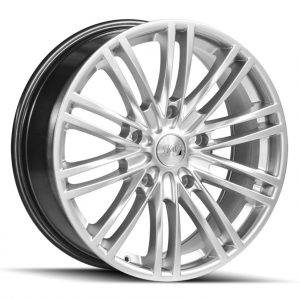 1AV Transit Hyper Silver multi spoke alloy wheel