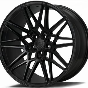 Axe CF1 Gloss Black 1 multi spoke alloy wheel