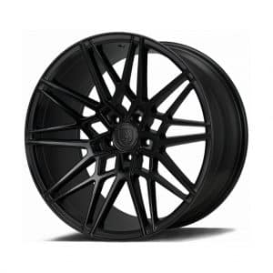 Axe CF1 Gloss Black angle 1 alloy wheel
