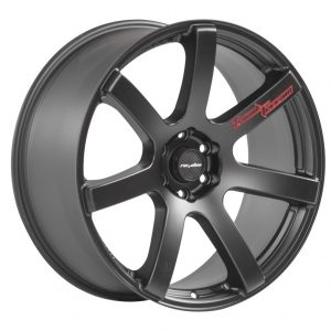 Lenso RTC Matt Black 7 spoke alloy wheel