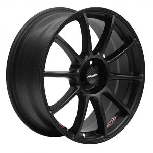 Lenso Spec B Matt Black multi spoke alloy wheel