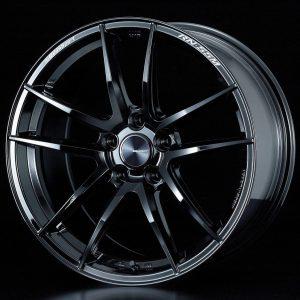 Weds Sport RN55M Gloss Black Face FR lightweight alloy wheel