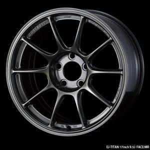 Weds Sport TC105X EJ Titan 17x9.5 Face MR lightweight alloy wheel