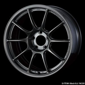 Weds Sport TC105X EJ Titan 18x9.5 Face R lightweight alloy wheel