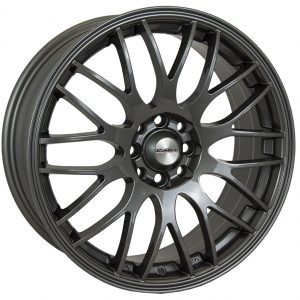 Calibre Motion Gunmetal 900 multi spoke y spoke alloy wheel