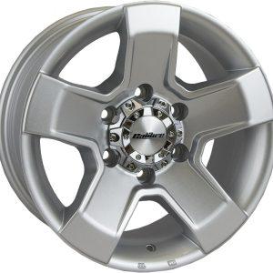 Calibre Outlaw Silver 900 5 spoke alloy wheel