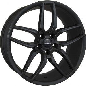 Calibre CCU Matt Black 900 twin spoke 10 spoke alloy wheel