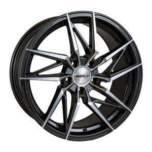 Calibre CCZ Gunmetal Polished Face alloy wheel