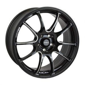 Calibre Friction Black Polished Face alloy wheel