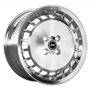 Ronal R10 Turbo Ball Polished Silver angle 2000