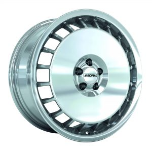 Ronal R50 Aero Ball Polished Silver angle 2000