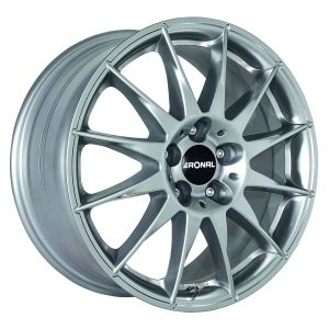 Ronal R54 Titanium Silver angle 2000