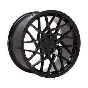 Velare VLR03 Diamond Black angle 1 alloy wheel