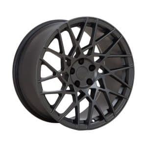Velare VLR03 Matt Graphite angle 1 alloy wheel