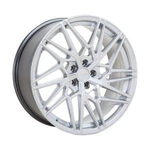 Velare VLR06 Iridum Silver angle 1 alloy wheel