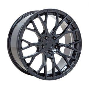 Velare VLR08 Diamond Black angle 1 alloy wheel