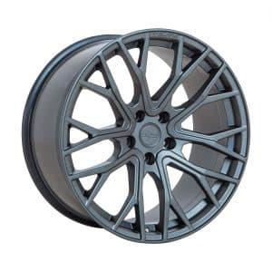 Velare VLR08 Matt Graphite angle 1 alloy wheel