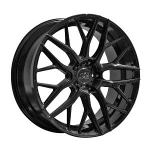 1AV ZX11 Gloss Black alloy wheel